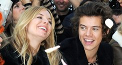 Harry Styles and Sienna Miller Fashion Week 2013