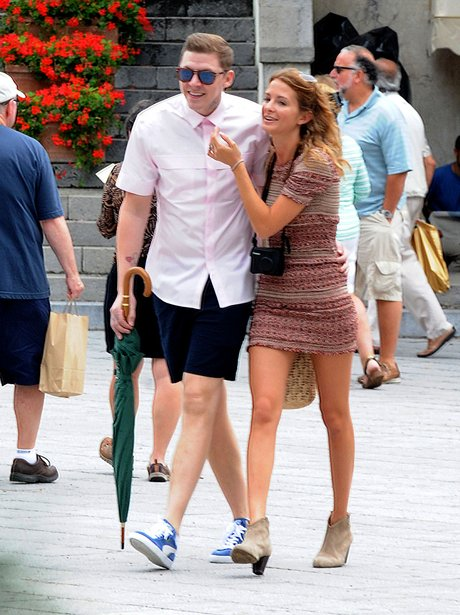 Professor Green And Millie Mackintosh on their hon