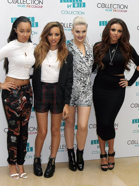 Little Mix launch their make-up by collection