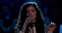 Lorde On Jimmy Fallon