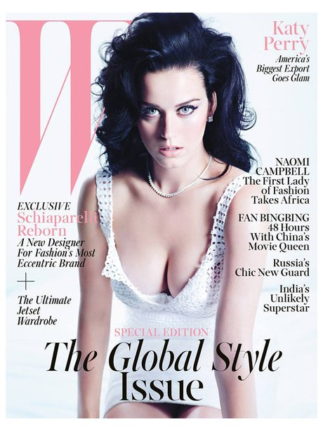 Katy Perry W Magazine 2013