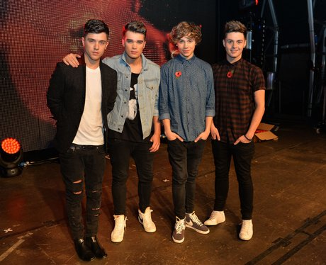 Union J at the UK Poppy Appeal