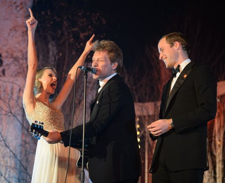 Taylor Swift, Prince William and Bon Jovi