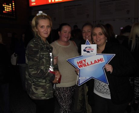 Will.I.Am At The Manchester Arena