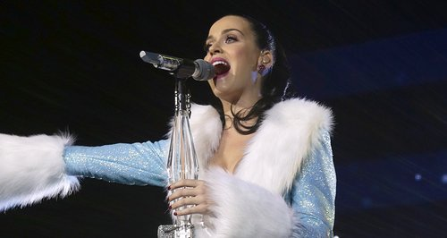 Katy Perry live at the Jingle Bell Ball 2013