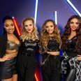 Little Mix Jingle Bell Ball 2013 backstage
