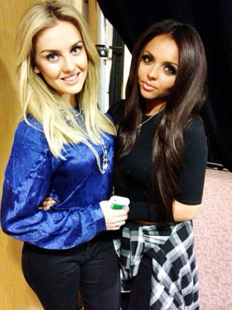 Jesy Nelson And Perrie Edwards Perrie Edwards And Jes...