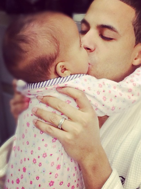 Capital FM's Marvin Humes hopes up baby Alaia-Mai