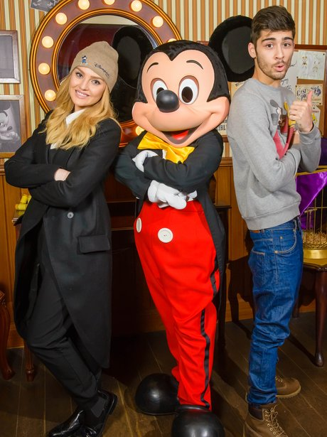 Zayn Malik and Perrie Edwards at Disneyland