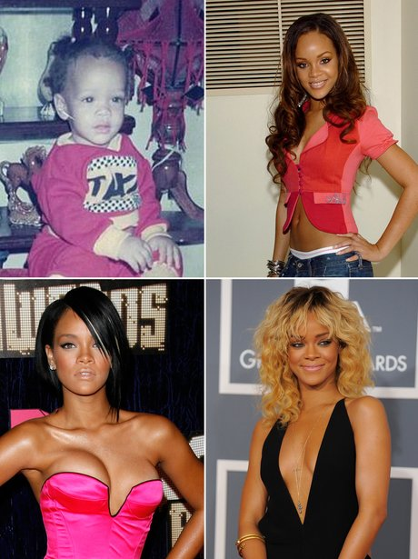 Celebrity Transformations: Rihanna