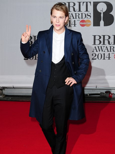 Tom Odell at the Brit Awards 2014