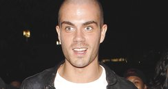 Max George at Miley Cyrus Concert
