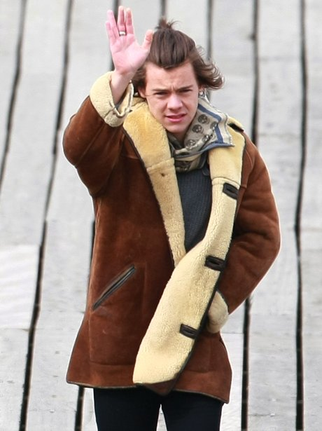 Harry Styles Fimling Music Video