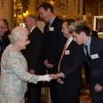 Niall Horan meets the Queen