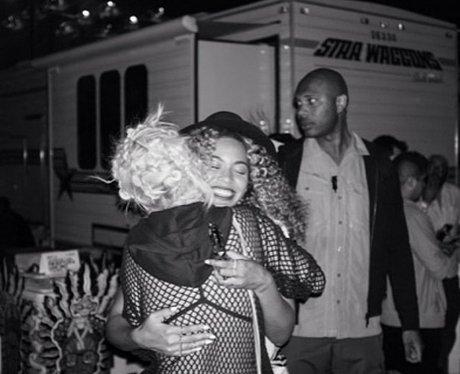 Rita Ora and Beyonce