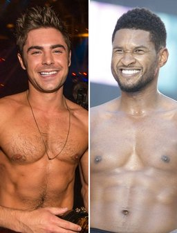 zac efron and usher