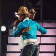 Pharrell Williams and Jay Z live at Coachella