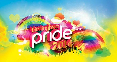 Birmingham Pride Logo 2014
