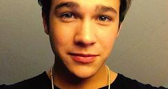 Austin Mahone selfie  instagram