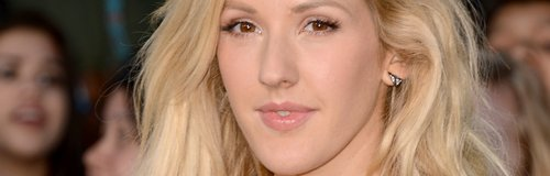 Ellie Goulding Low Cut Top