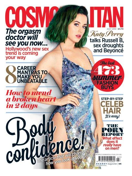 Katy Perry Cosmopolitan Magazine 2014