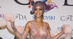 Rihanna  at the 2014 CFDA Fashion Awards