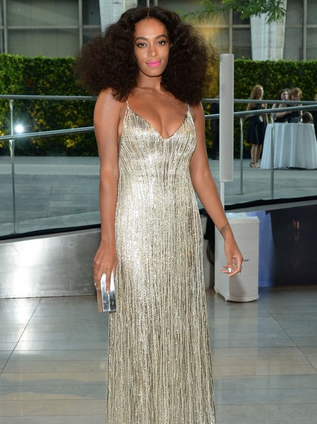 Solange attends the 2014 CFDA fashion award