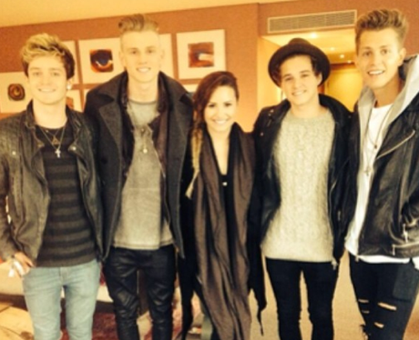 The Vamps and Demi Lovato