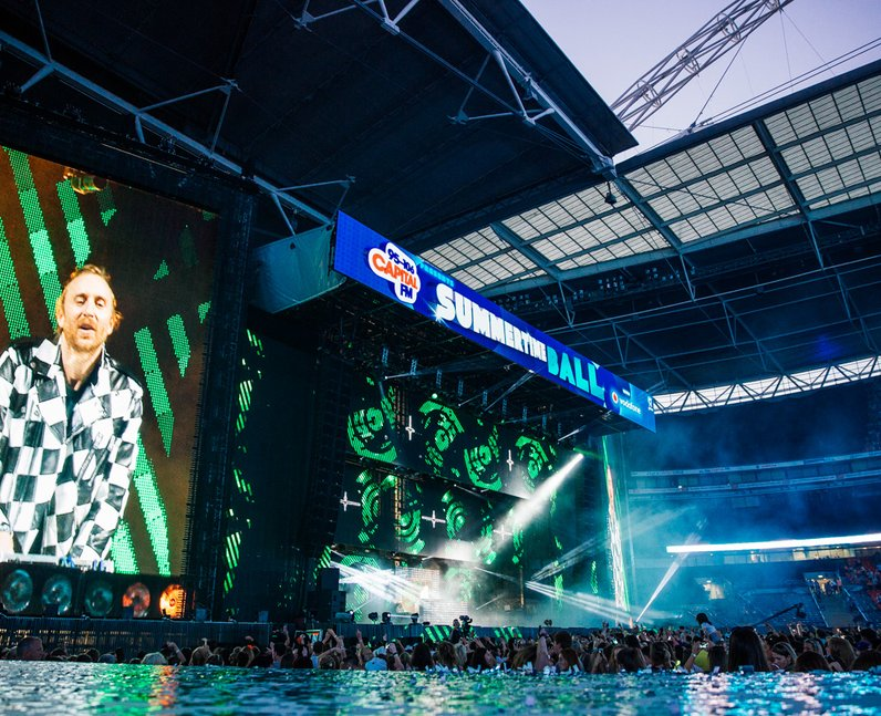 David Guetta live at the Summertime Ball 2014