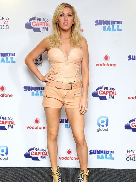 Ellie Goulding Summertime Ball 2014 Red Carpet