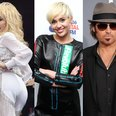 Miley Cyrus, Dolly Parton and Billy Ray Cyrus