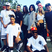 59. Chris Brown hangs out with Kendall and Kylie Jenner at a celebrity kickball game in LA