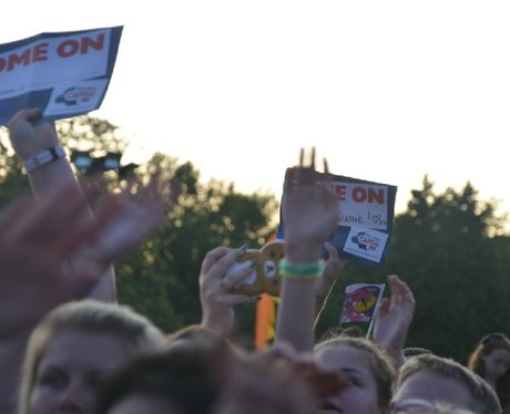 Union J at Ponty's Big Weekend!