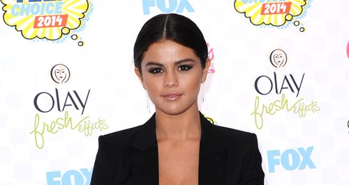 Selena Gomez at the Teen Choice Awards 2014