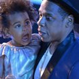 Jay Z and Blue Ivy VMA's 2014