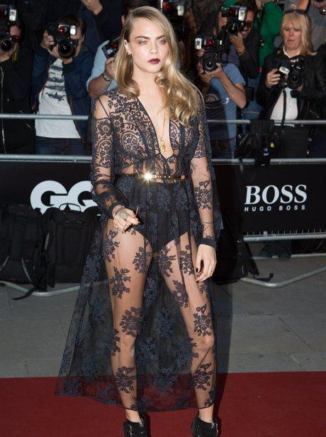Cara Delevingne at the GQ Awards 2014
