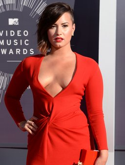 Demi Lovato Red Dress VMA's