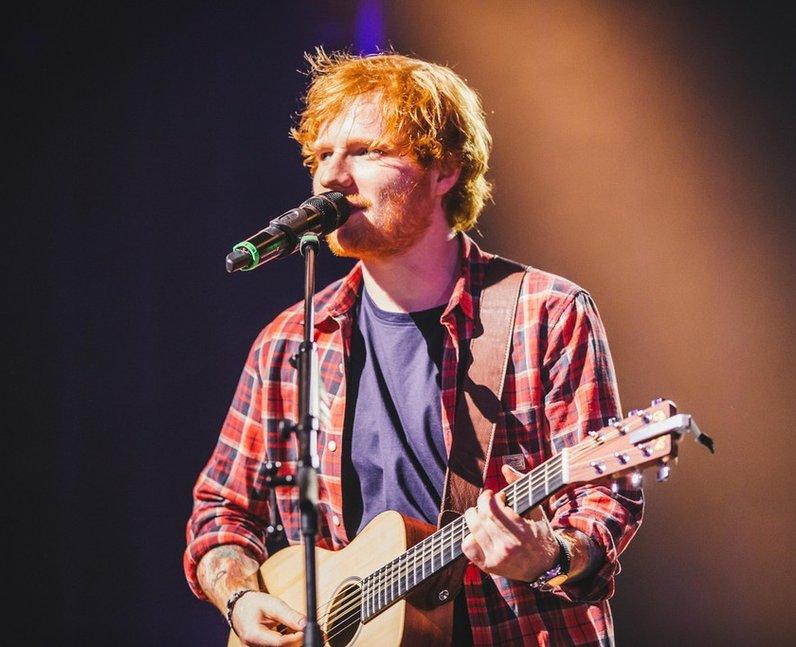 Ed Sheeran iTunes Festival 2014