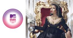 MTV EMAs 2014 Email Promo