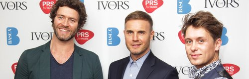 Take That Ivor Novello Awards 2014