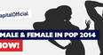 Sexiest Male & Female In Pop 2014