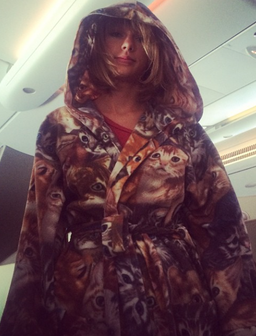 Taylor Swift Dressing Gown Instagram