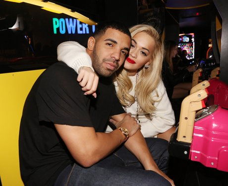 Drake and Rita Ora