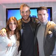 Calvin Harris with Dave Berry & Lisa Snowdon