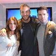 Calvin Harris with Dave Berry & Lisa Snowdon