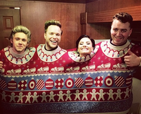 Niall Horan, Olly Murs, Demi Lovato and Sam Smith