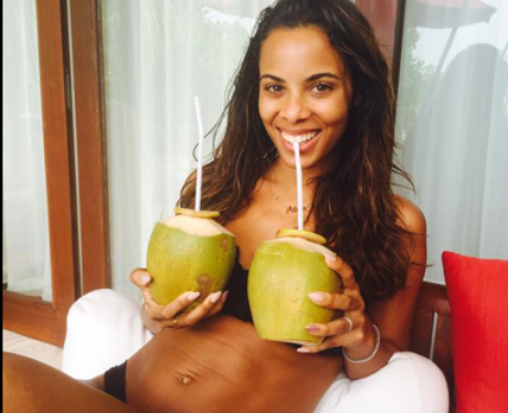 Rochelle Humes in a bikini