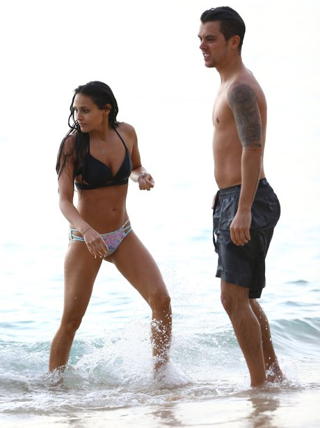 JJ Hamblett an Caterina Lopez Holiday Beach