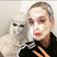 Image 1: Katy Perry wearing a face mask