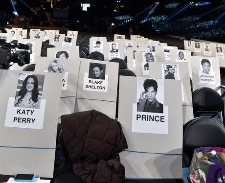 Katy Perry, Prince and Sam Smith